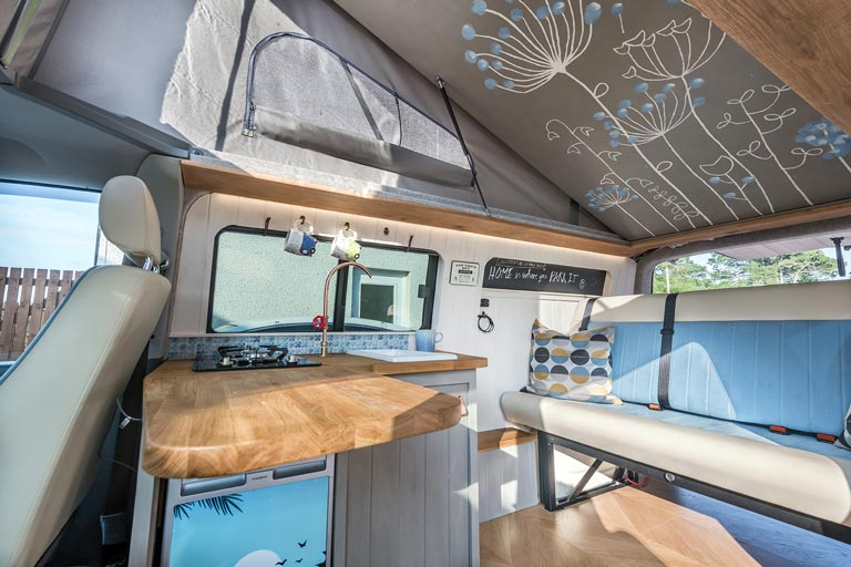 Campervan DIY bed kit